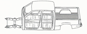 Quad Cab Truck Cut Sheet